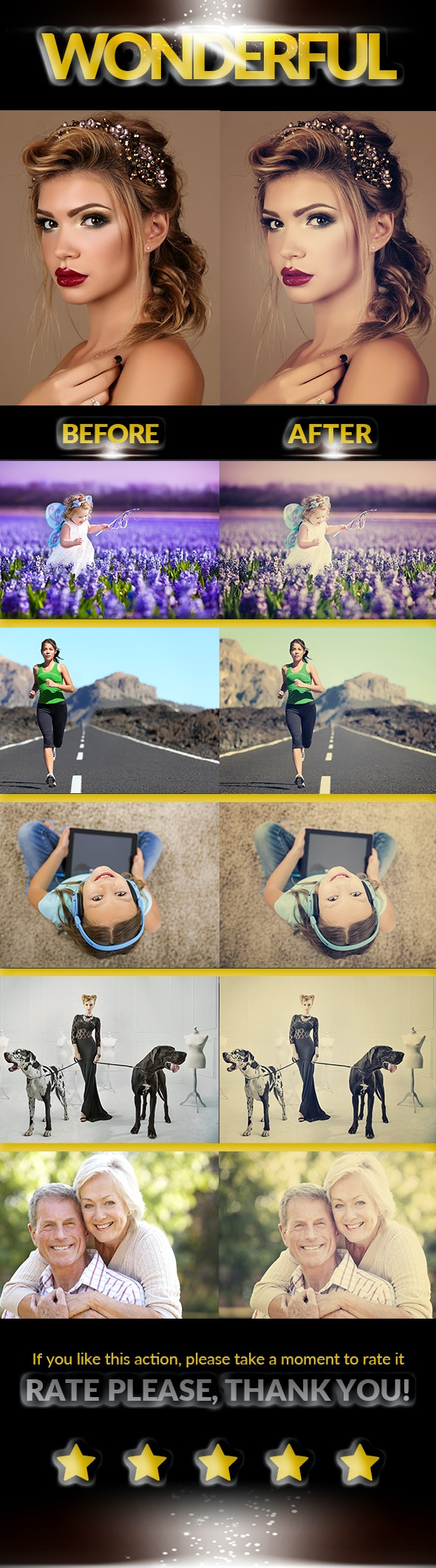 Vanilla Effect - Photo Effects Actions