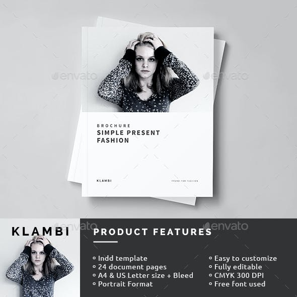 Fashion Brochure