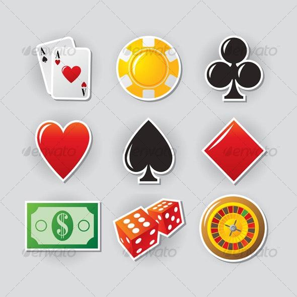 Casino icons - Web Icons