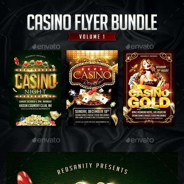 Casino Flyer Bundle Vol.1