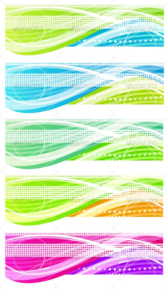 Abstract header - Web Technology