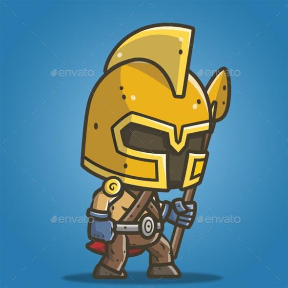 Chibi Knight – The Gladiator