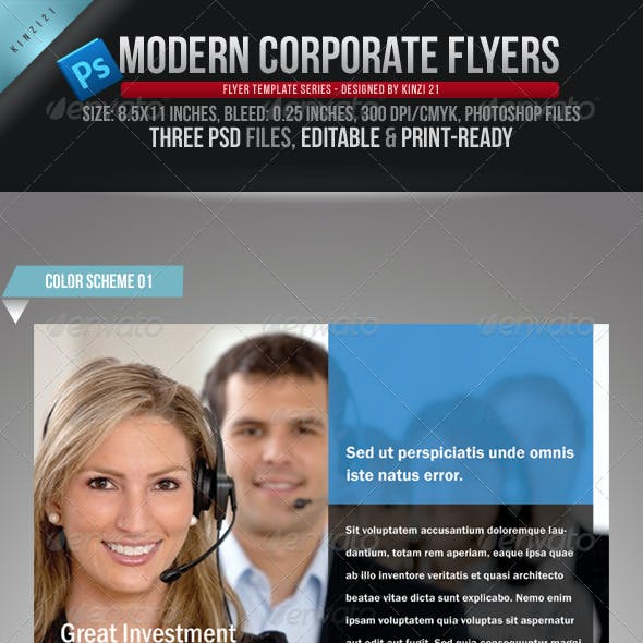 Modern Corporate Flyers