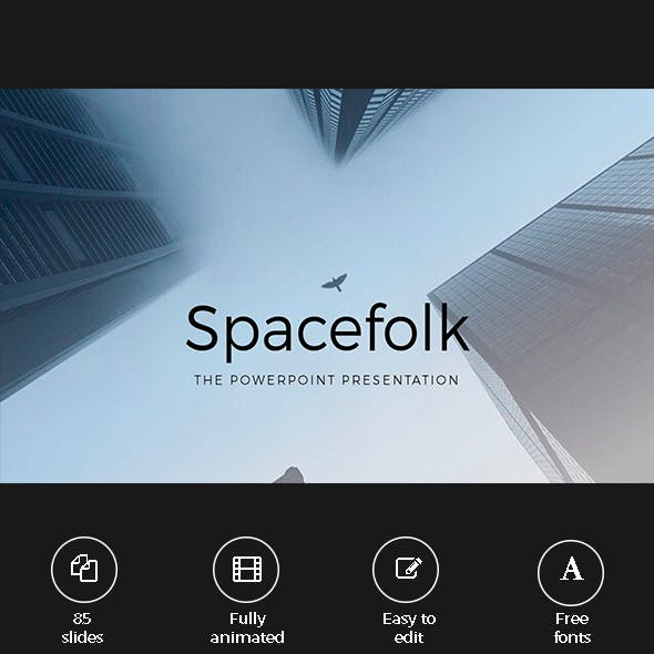 Business & Modern Spacefolk Presentation