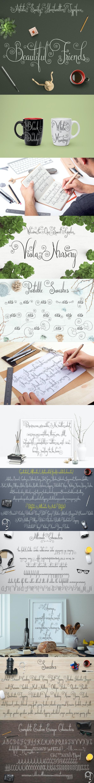 Friends - Hand-writing Script