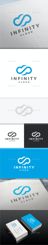 Infinity Cloud Logo - Symbols Logo Templates