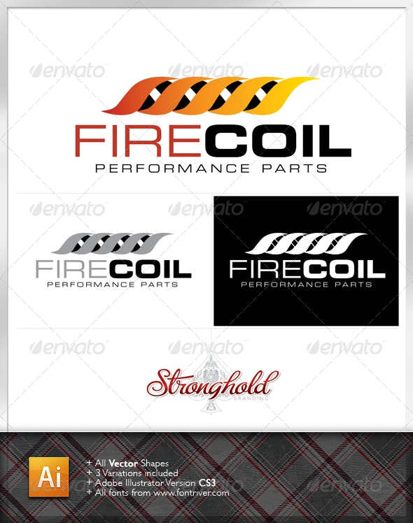 Performance Parts Logo Template - Abstract Logo Templates