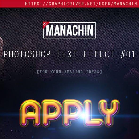 3D Photoshop Text Effect Mockups 01