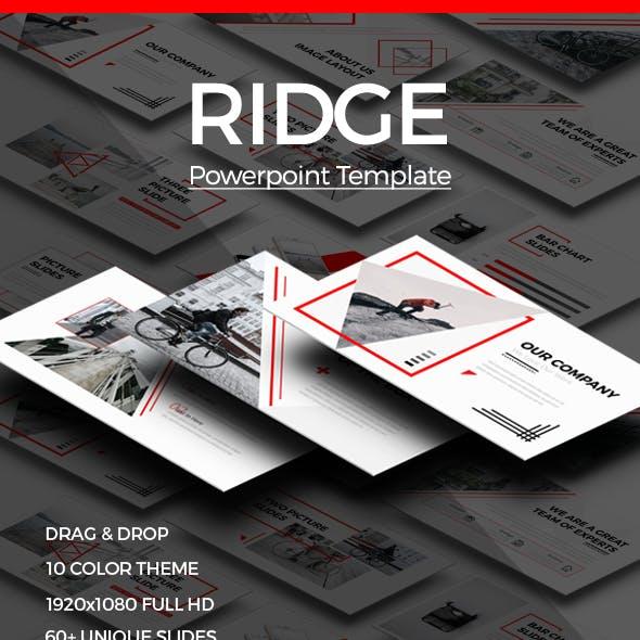 RIDGE - CREATIVE Powerpoint Template