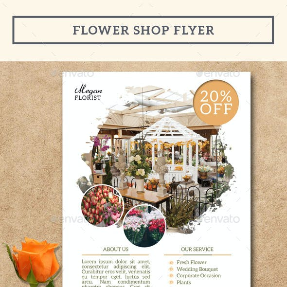 Flower Shop Flyer Vol.2