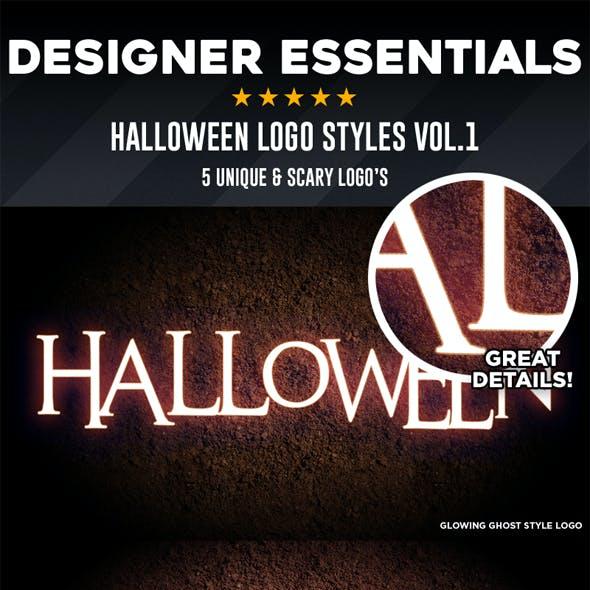 Designer Essentials Halloween Styles Vol.1