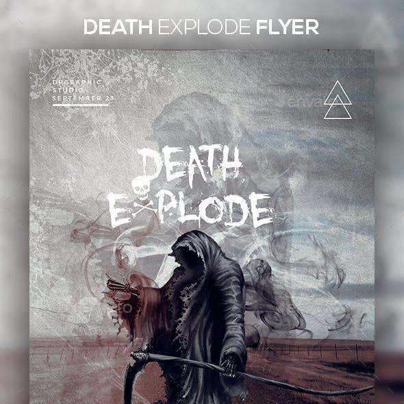 Death Explode Flyer
