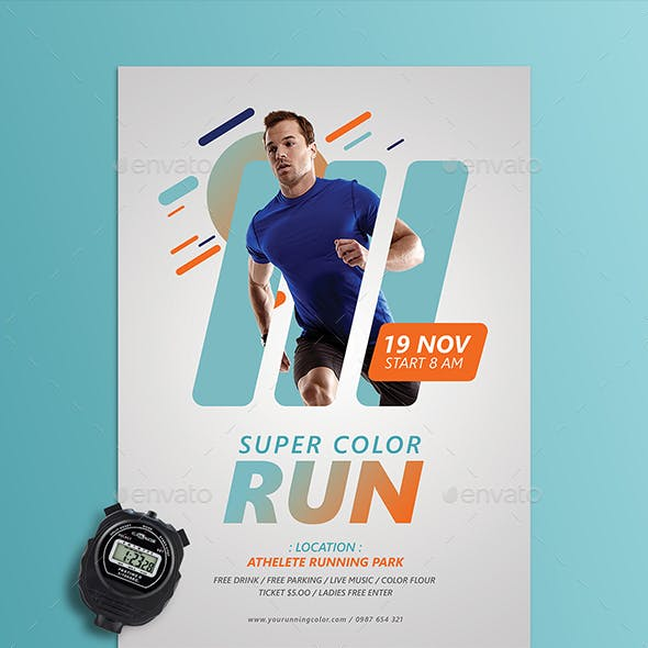 Run Fest Flyer