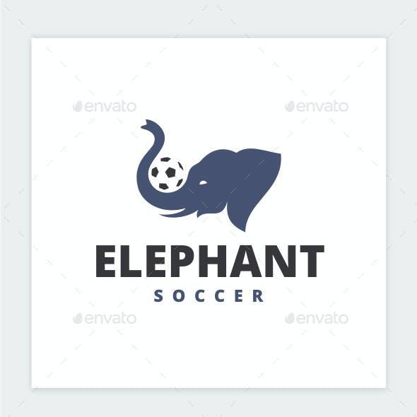 Elephant Soccer Logo