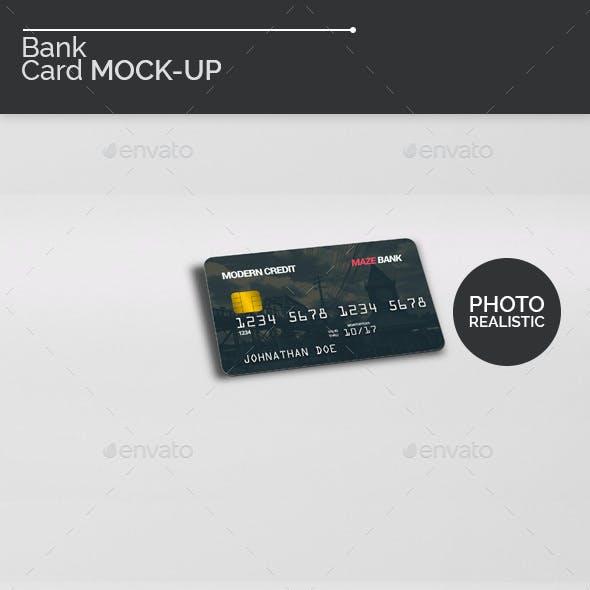 Bank Card Mock-Ups