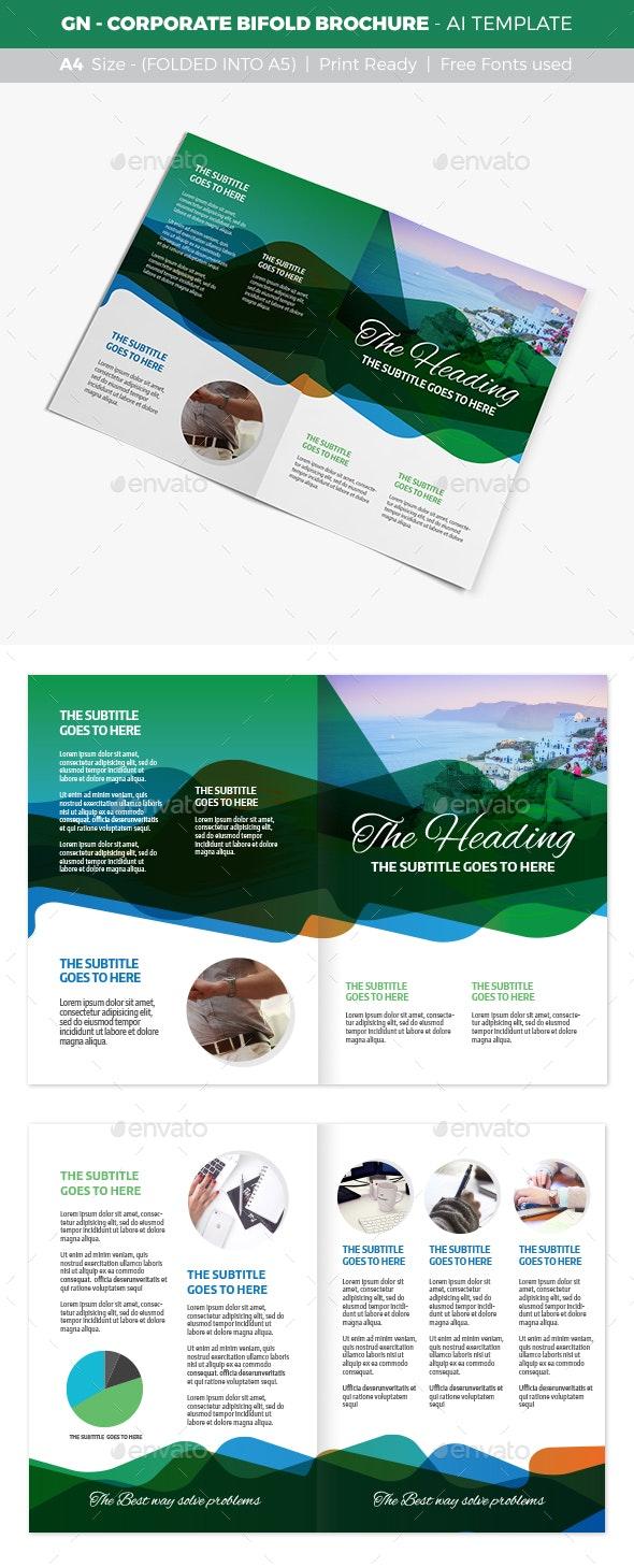 GN - Corporate Bifold Brochure - Corporate Brochures