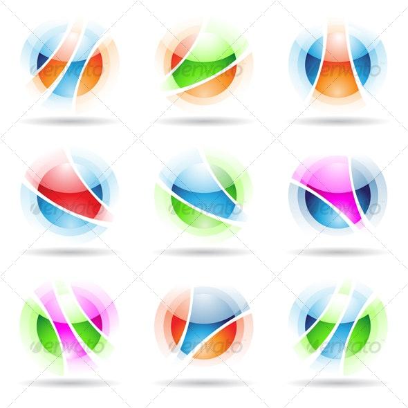 vibrant balls - Abstract Icons