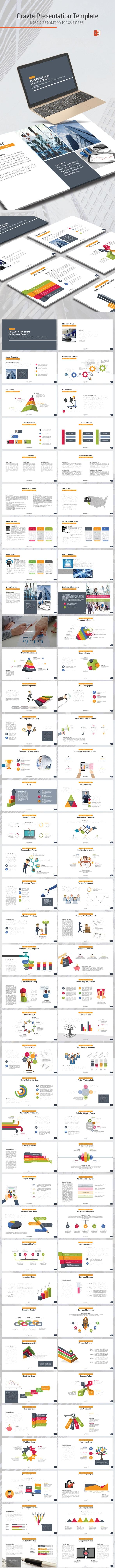 Gravta Template - Business PowerPoint Templates