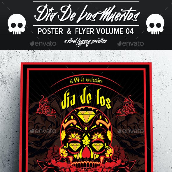 Dia De Los Muertos Volume 4