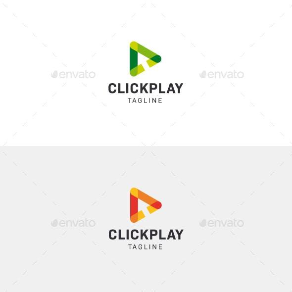 Click And Play Logo