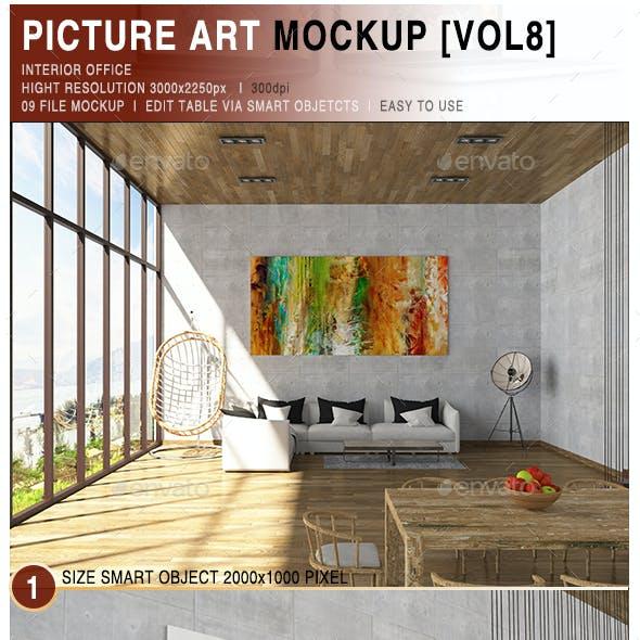 Picture Art Mockup [Vol 8]