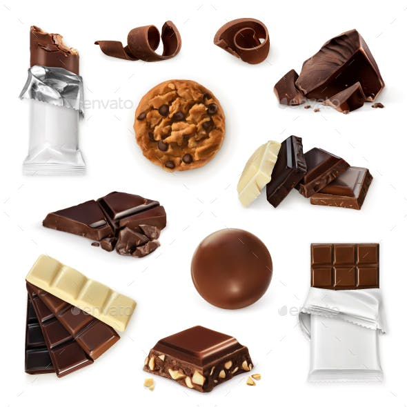 Chocolate Vector Icons
