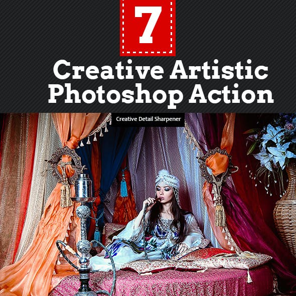 Creative Artistic Photoshop Actions