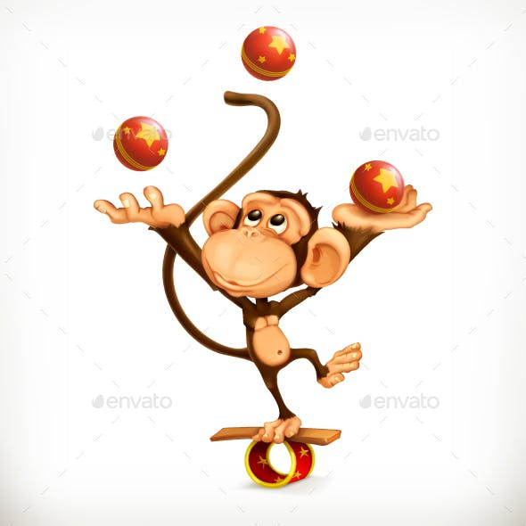 Monkey Juggler