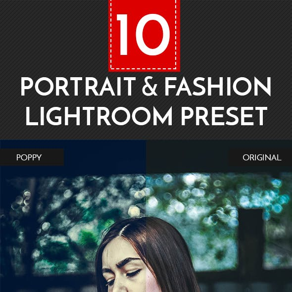Portrait & Fashion Lightroom Preset