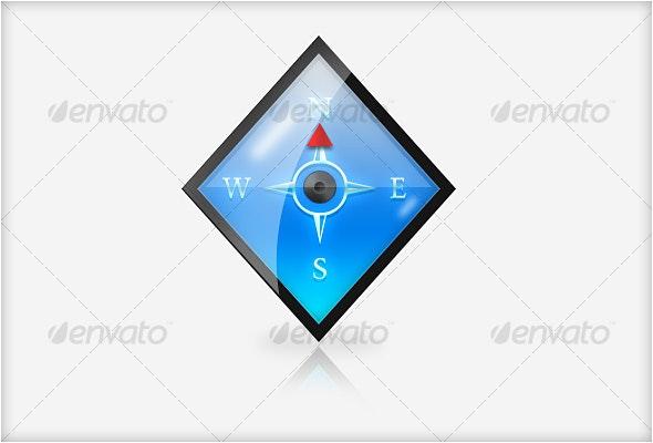 Compass - Web Icons