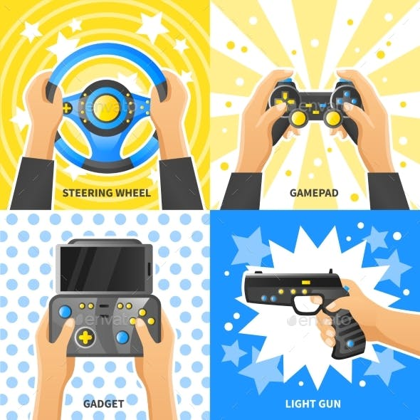 Game Gadget 2X2 Design Concept
