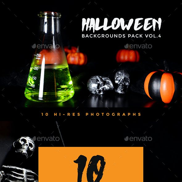 Halloween Backgrounds Pack Vol. 4