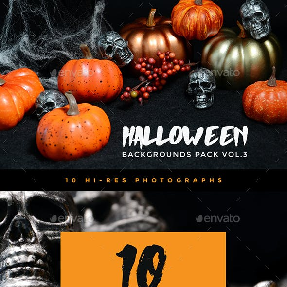Halloween Backgrounds Pack Vol. 3