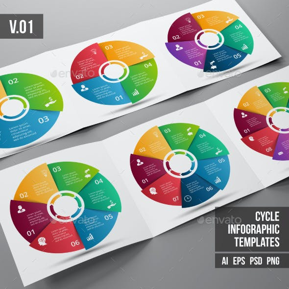 Infographics template set v.01
