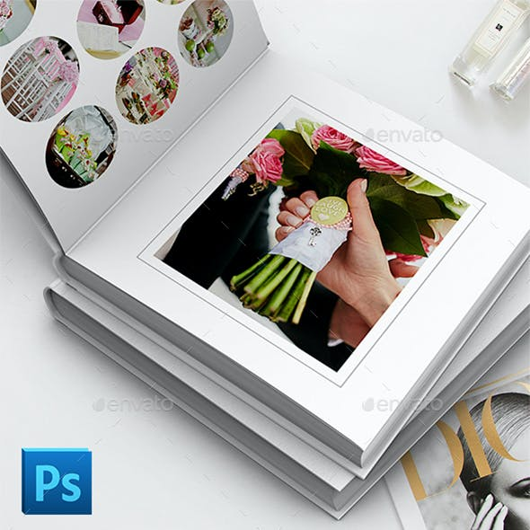 Wedding Photoboock Template