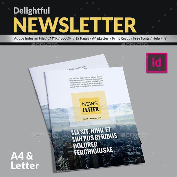 Delightful Newsletter Template