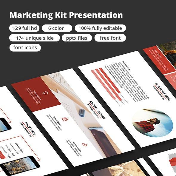 Marketing Kit - Google Slide