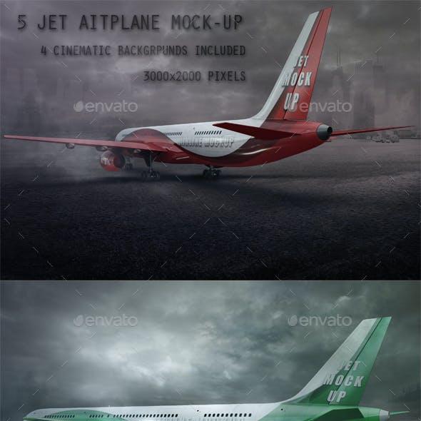 Jet Airplane Mock Up