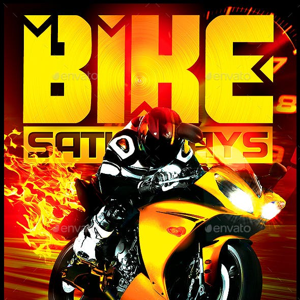 Motorcycle Flyer