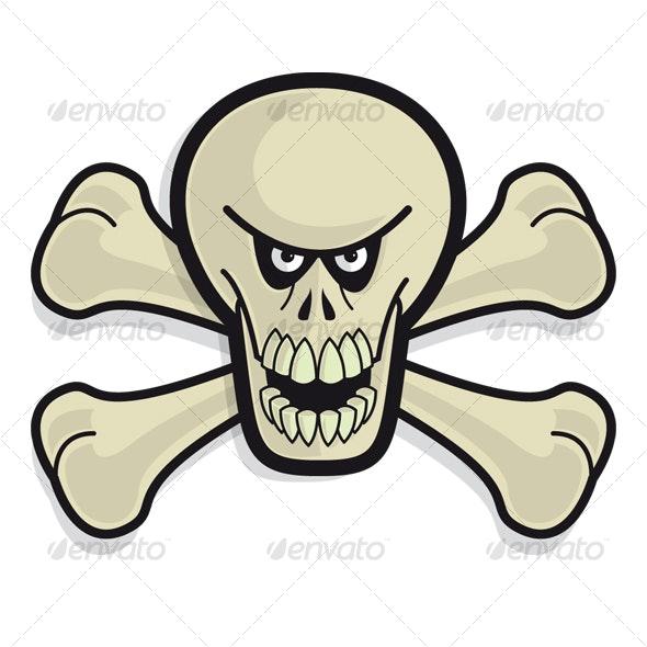 Skull 'n' Bonez - Tan - Monsters Characters