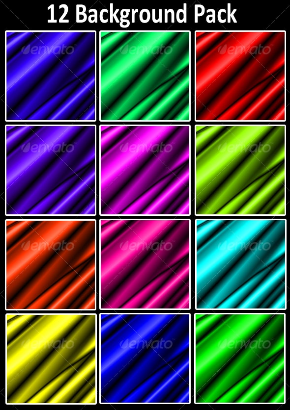 Silky/Liquid Background Pack - Backgrounds Graphics