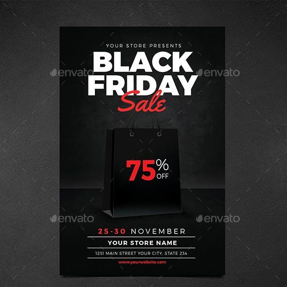 Black Friday Sale Flyer Vol 01