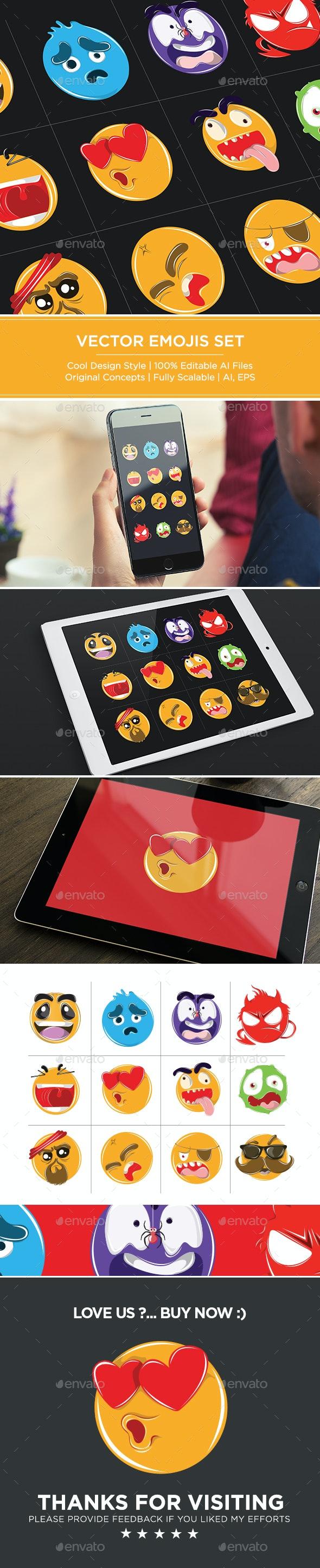 Creative Emoji Set - Miscellaneous Characters