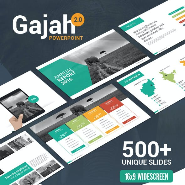Gajah | PowerPoint Template