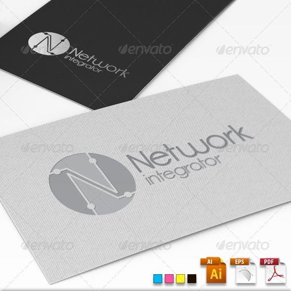 Network Integrator Logo Template