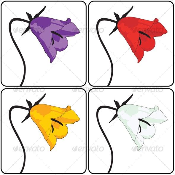Coloured Violets - Flowers & Plants Nature