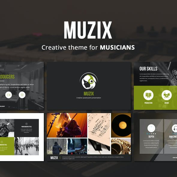 Muzix - Powerpoint