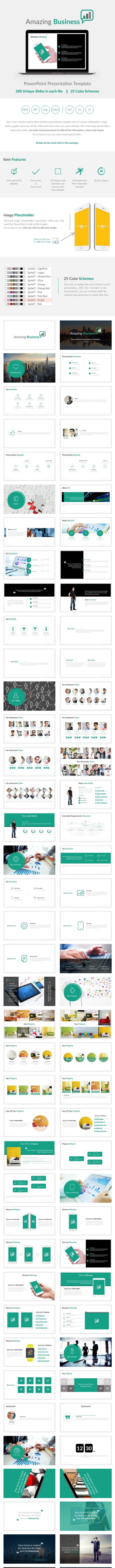 Amazing Business PowerPoint Presentation Template - Business PowerPoint Templates