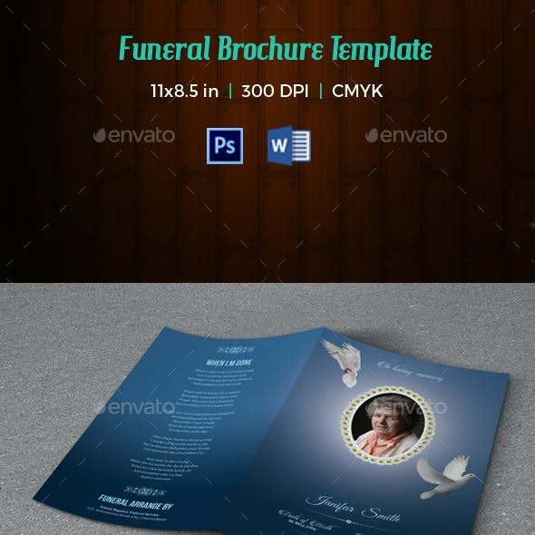 Funeral Program Template-V132