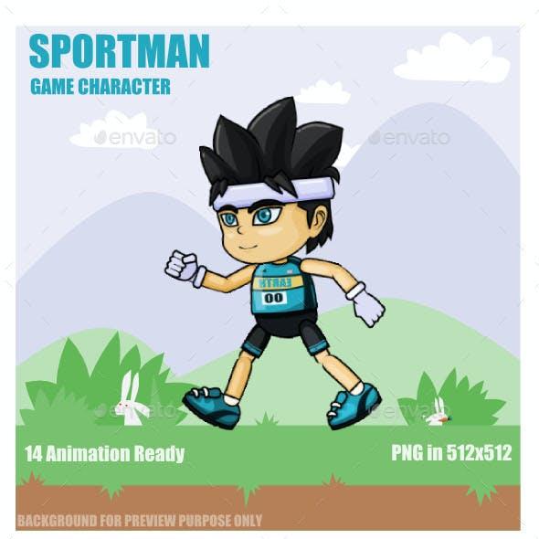 Sportman Sprite Character